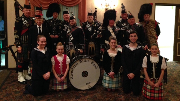 Cleveland Kiltie Band 2014